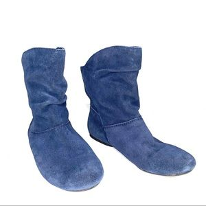 Nine West Blue Booties